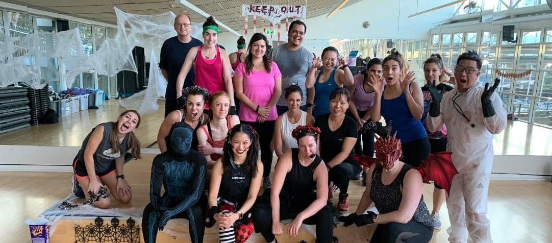 Halloween Themed Group Fitness Classes