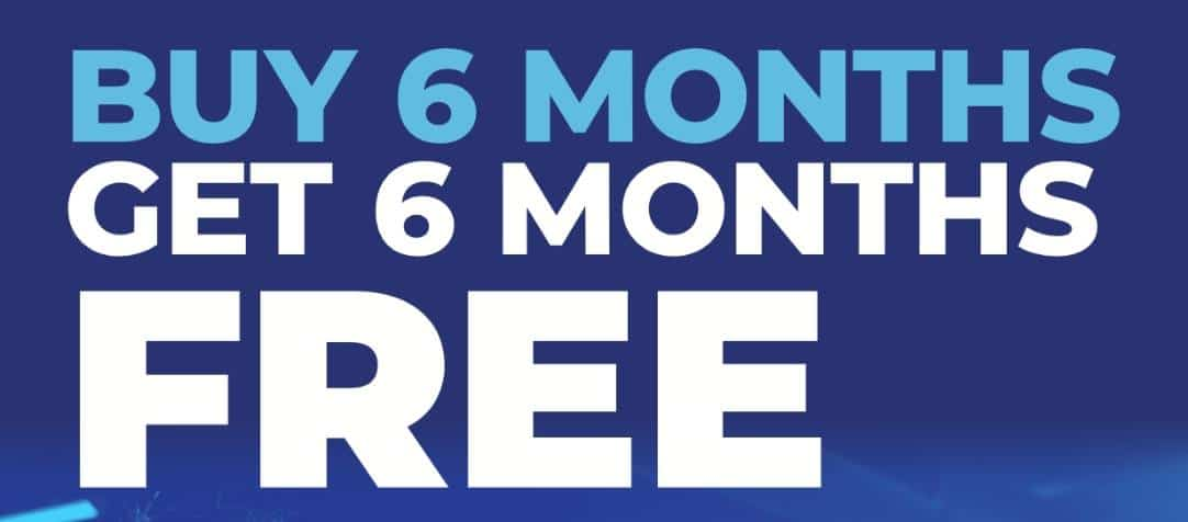 Buy 6 Months, Get 6 Months Free And Win A Car?